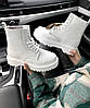 "Женские ботинки Dr.Martens ""White"", фото 5"