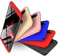 Необычный чехол для Xiaomi Redmi Note 7 / Note 7 Pro / Note 7s (360 градусов) /пластиковая накладка для Ксиоми редми нот 7/нот 7 про/сяоми/