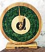 Часы настенные из мхом диаметр 25 см, фото 3
