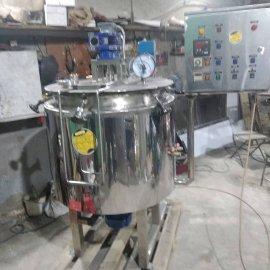 Котел плавитель для сыра кпэ-150 с двумя мешалками