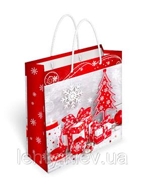 Новогодние пакеты ламинированные 171х166х66 (МК-35084)