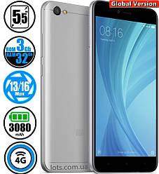 Смартфон Xiaomi Redmi Note 5A Prime 3/32Gb Grey (Global Version)