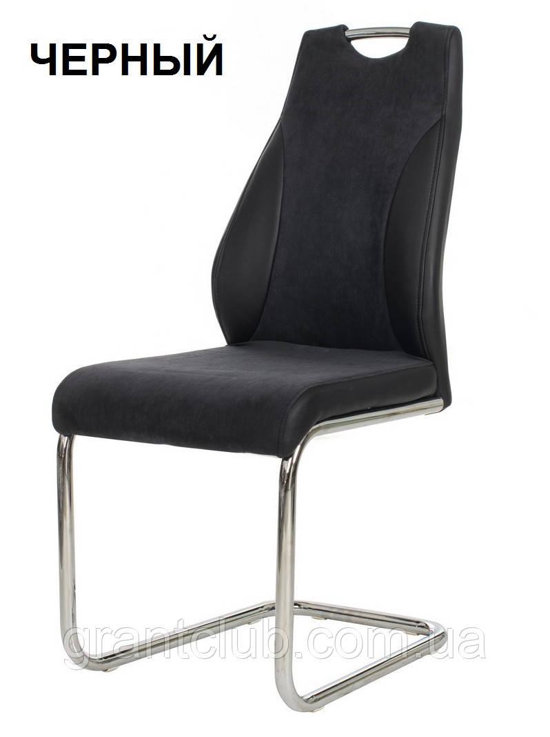 Мягкий стул S-103-2 черный ткань/кожзам Vetro Mebel