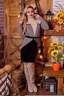 Женское платье корсет акрил шерсть 42-48, фото 1