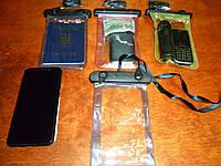 Водонепронецаемые чехлы для телефона а такде денег документов, фото 1