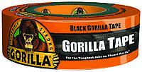 Армована стрічка чорна Gorilla 48 мм х 32 м супер міцна, фото 1