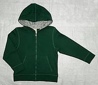 Детская спортивная кофта с начесом зеленая (Z&M, Турция)