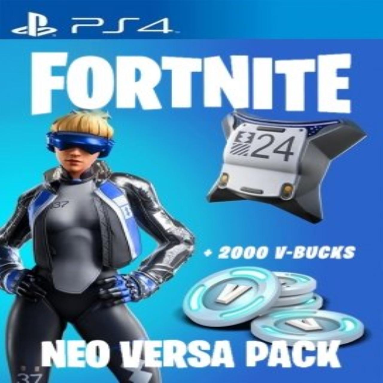 Fortnite Neo Versa + 2000. RUS PS4 (КОД)