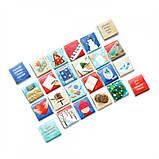 Адвент-календарь шоколадный  Рождественский 120 гр ( на рус.языке), фото 3