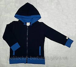 Спортивная кофта с начесом темно-синяя (Z&M, Турция)