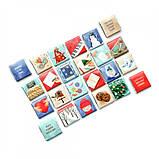 Адвент-календарь шоколадный  Різдвяний 120 гр ( на укр.языке), фото 3