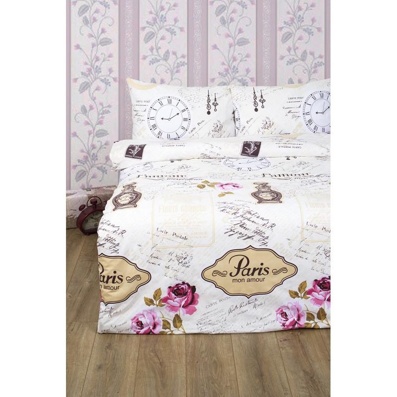 Постельное белье Lotus Ranforce - Forever розовый двуспальное