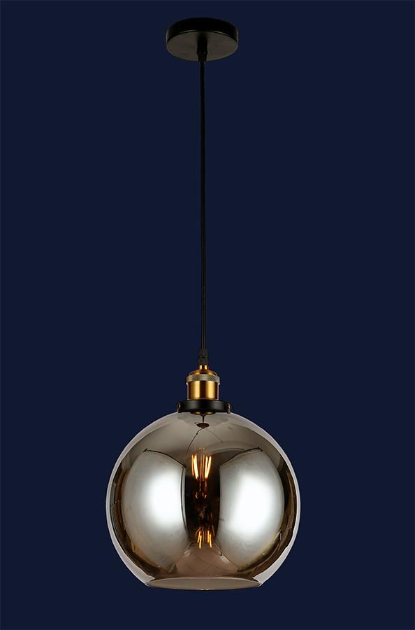 Підвісний світильник куля 7521009-1 BK(250)