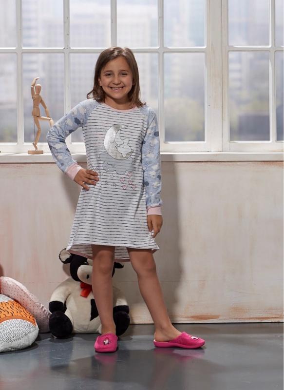 Нічна сорочка для дівчинки Sevim Kids 7763