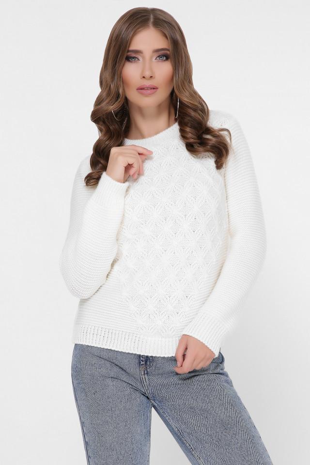 Фото Полушерстяного женского свитера Злата-1