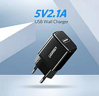 USB cетевое зарядное устройство 5V 2.1A Ugreen ED011