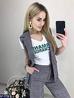 Костюм женское жилетка с бриджами в размере S, M, L