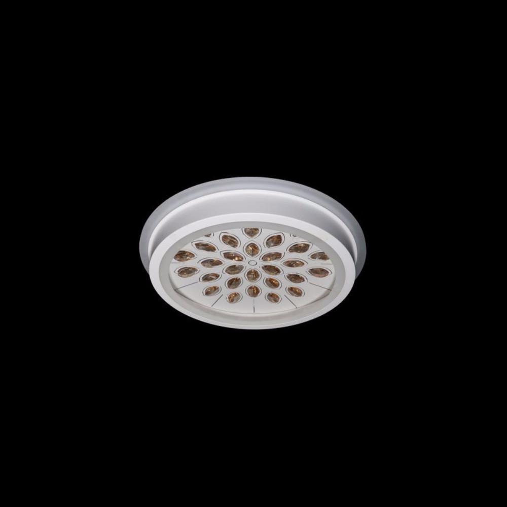 Круглая светодиодная люстра СветМира хром 75 Вт 500 мм. LS-9342/500