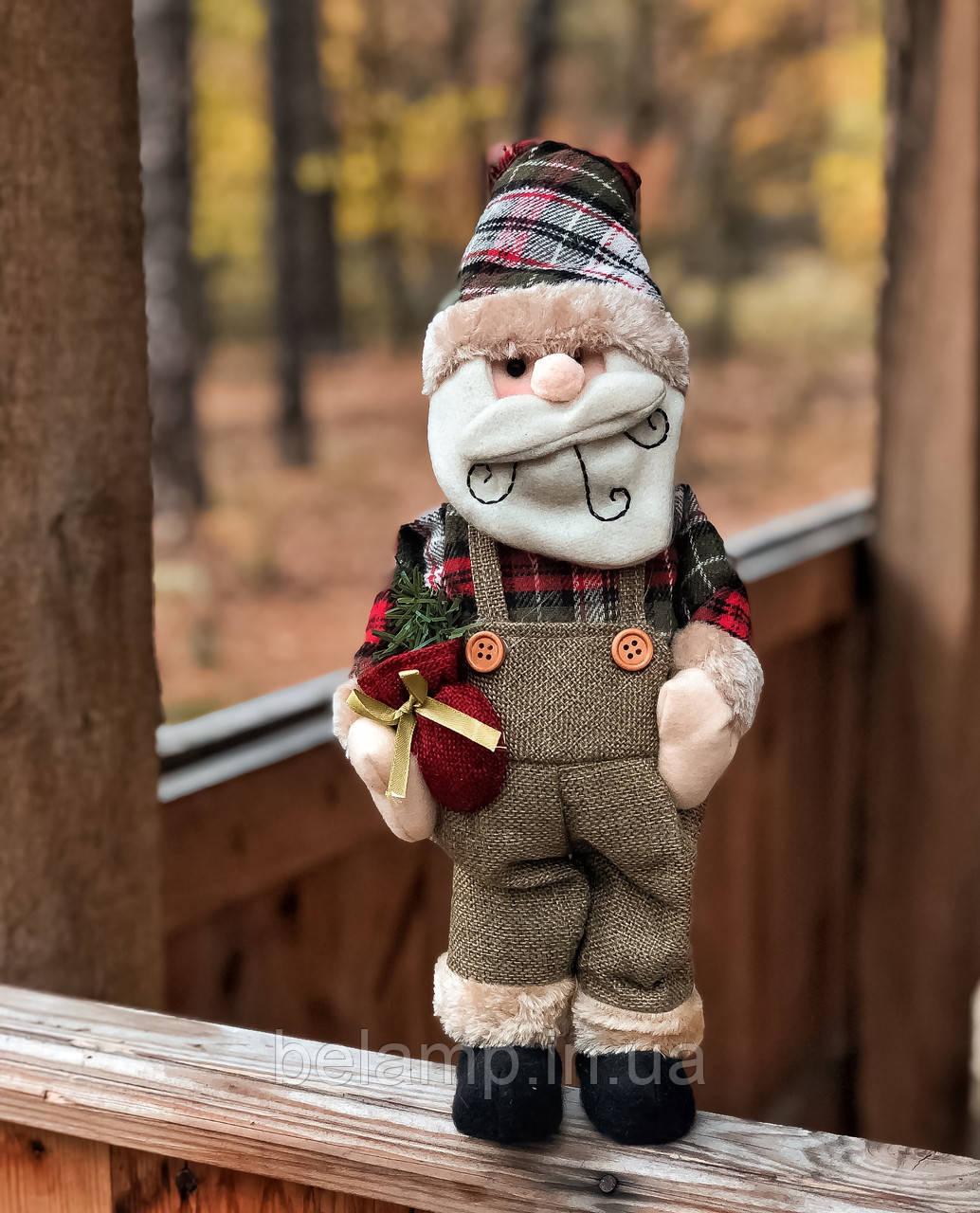 """Новогоднее украшение фигурка под ёлку «Дед Мороз"""""""