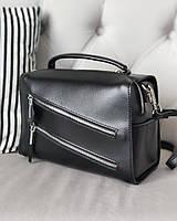 Женская кожаная сумка  , сумки через плечо кросс боди, фото 1