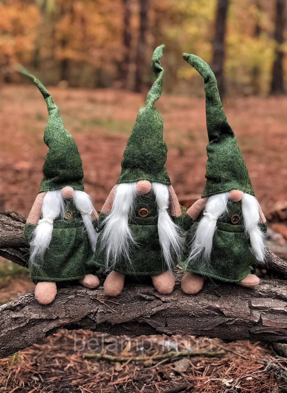 Новогоднее украшение «Зелёный викинг»