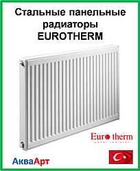 Стальной панельный радиатор  Eurotherm 22k 500*400 б.п.