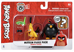 Ігрова фігурка Jazwares Angry Birds ANB Mission Flock Бум і Чак (ANB0008)