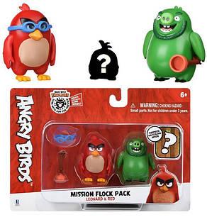 Игровая фигурка Jazwares Angry Birds ANB Mission Flock Ред и Леонард (ANB0010), фото 2