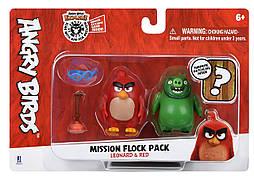 Ігрова фігурка Jazwares Angry Birds ANB Mission Flock Ред і Леонард (ANB0010)