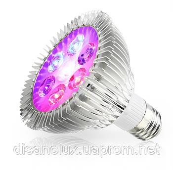 Фито лампа для растений 7 Led 21W  E27 230V Full Spectrum