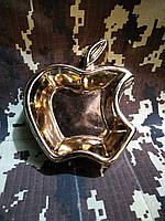 """Пепельница """"Apple"""".Яблоко. Славянская керамика. Посуда керамическая. Сувениры, керамика."""