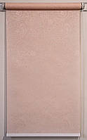Рулонная штора 1300*1500 Арабеска 2070 Кремовый, фото 1
