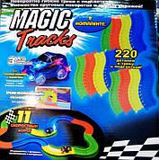 Детский светящийся Гоночный трек Magic Tracks 220 / Мейджик Трек на 220 деталь