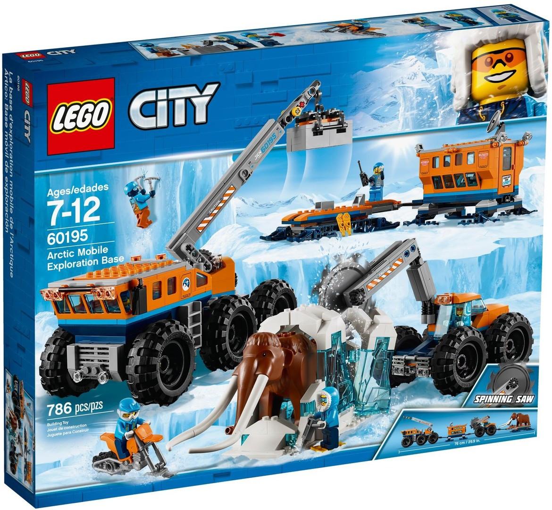 Lego City Арктическая экспедиция Передвижная арктическая база 60195
