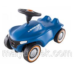 Машинка для катания BIG Нео голубая (56241)