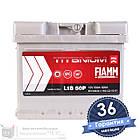 Аккумулятор автомобильный FIAMM Titanium Pro 6CT 50Ah, пусковой ток 520А (Низкий) [–|+] (L1B 50P), фото 2