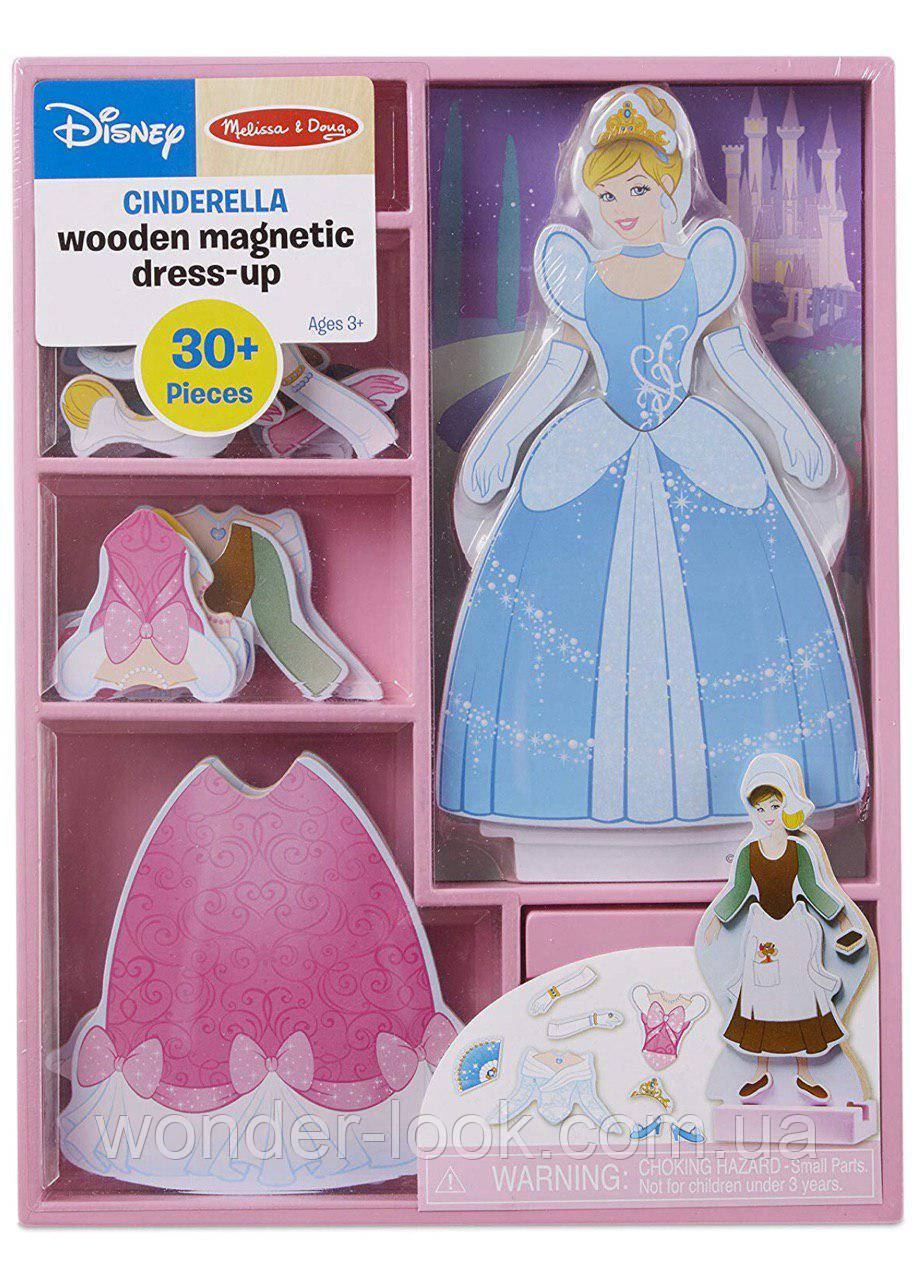 Магнитная одевалка Melissa & Doug Золушка США Melissa & Doug Disney Cinderella Magnetic Dress-Up Wooden Doll P