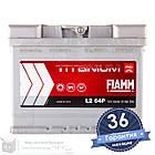 Аккумулятор автомобильный FIAMM Titanium Pro 6CT 64Ah, пусковой ток 610А [–|+] (L2 64P), фото 2