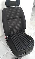 Эргономическая подушка EKKOSEAT на автомобильное кресло. Черная.