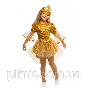 Костюм Рыбка 5,6,7,8 лет. Детский карнавальный новогодний костюм Золотая рыбка 344, фото 2