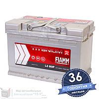 Аккумулятор автомобильный FIAMM Titanium Pro 6CT 80Ah, пусковой ток 730А [–|+] (L3 80P)