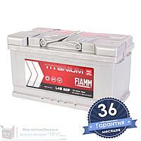 Аккумулятор автомобильный FIAMM Titanium Pro 6CT 85Ah, пусковой ток 760А (Низкий) [–|+] (L4B 85P)