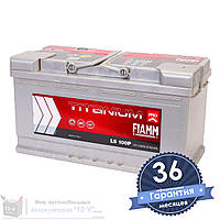 Аккумулятор автомобильный FIAMM Titanium Pro 6CT 100Ah, пусковой ток 870А [–|+] (L5 100P)