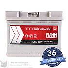 Аккумулятор автомобильный FIAMM Titanium Pro 6CT 60Ah, пусковой ток 600А [+|-] (L2X 62P), фото 2