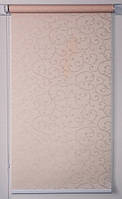 Рулонна штора 425*1500 Акант 2070 Кремовий, фото 1