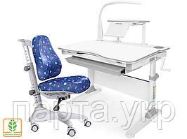 Комплект детская парта и кресло Evo-30 New, c лампой