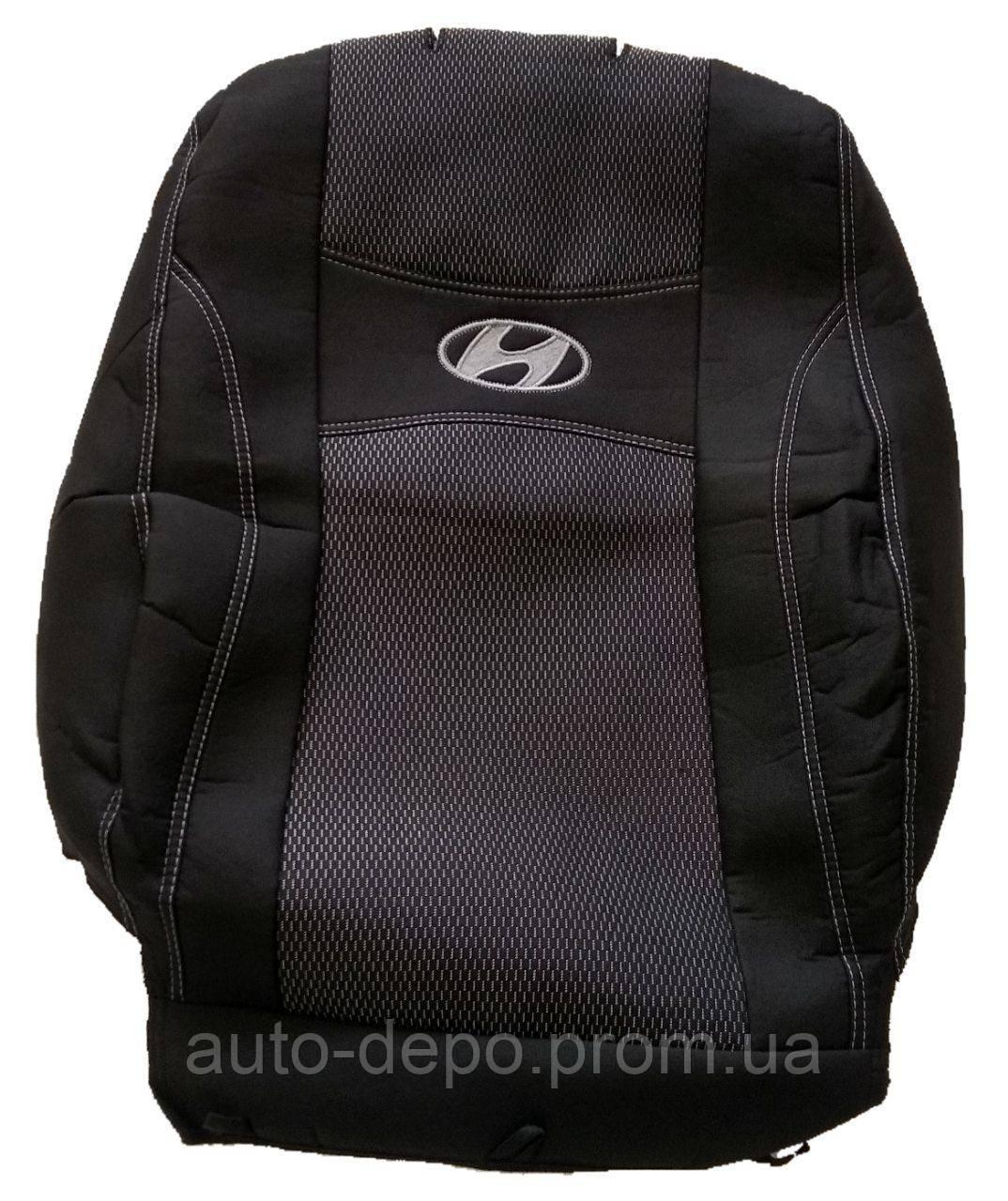 Чехлы на сиденья Hyundai Accent RB 2010- Nika