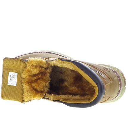 Ботинки мужские зимние с мехом Restime ZZ147, фото 2