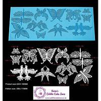 Мат для айсинга Голуби и бабочки, фото 1