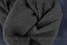 Джинси жіночі на флісовій підкладці у великих розмірах Джеггінси зимові - батал 5XL Чорний, фото 3